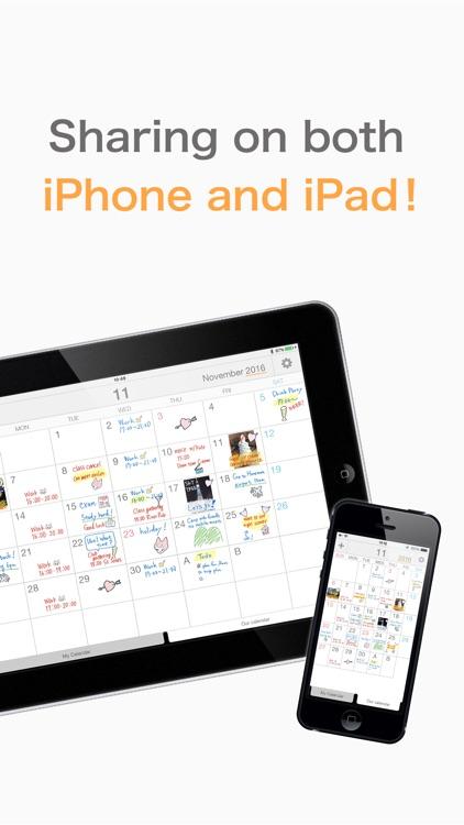 Palu - Shared Handwriting Calendar -