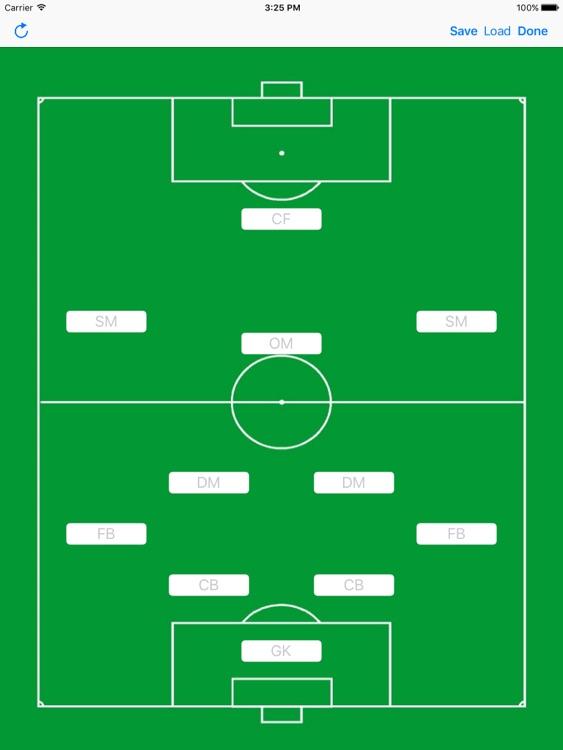 Soccer Formation Light screenshot-0