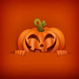 Evil pumpkin - Stickers for iMessage