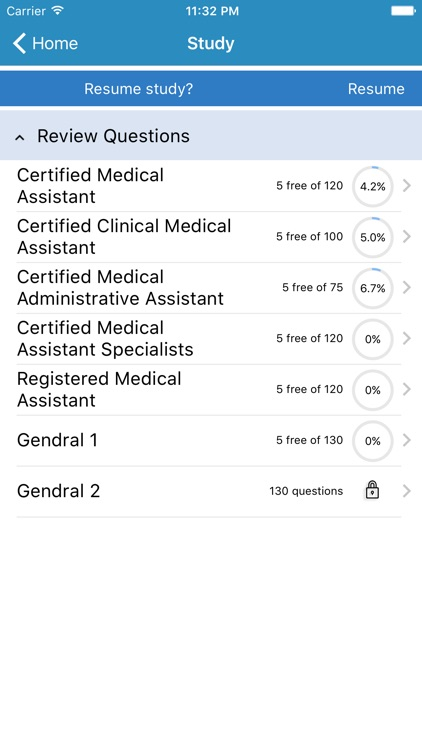Saunders Medical Assisting Exam Prep app image