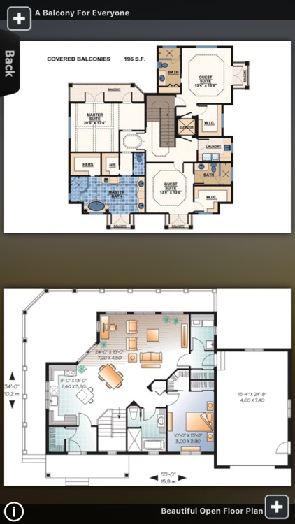 House Plans - Beach screenshot-2