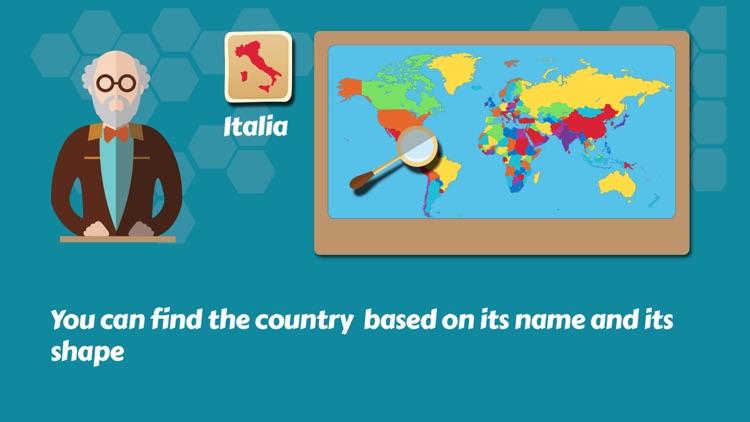 Geography Quiz Puzzle