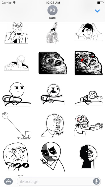 Rage Comics - Stickers Pack screenshot-3