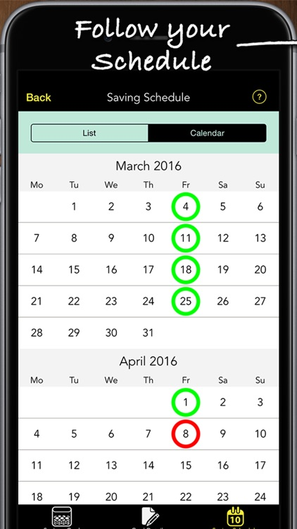 Savings Goals Pro screenshot-3
