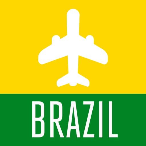 Brazil Travel Guide and Offline Street Map