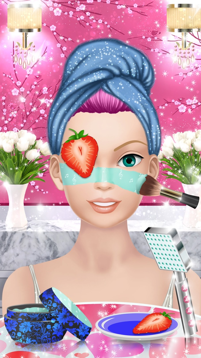 Pop Star Makeover: Girls Makeup and Dress Up Games Screenshot