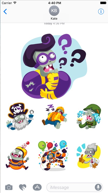 Plants vs Zombies™ Stickers