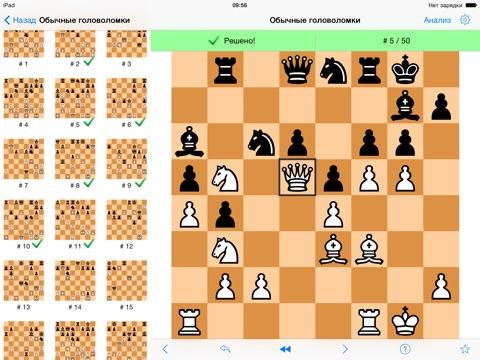 Игра Шахматные головоломки