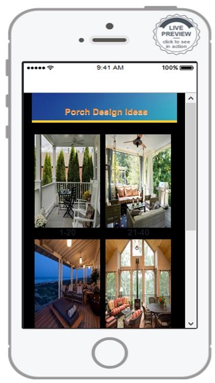 Porch Design Inspiration