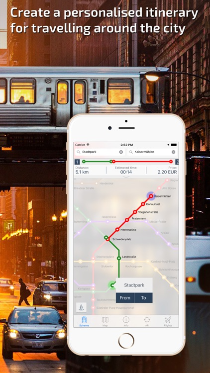 Vienna U-Bahn Guide and Route Planner