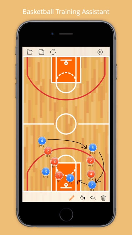 Tactic Board Pro- For basketball