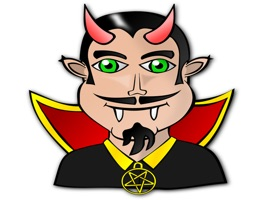 Dracula Stickers for iMessage
