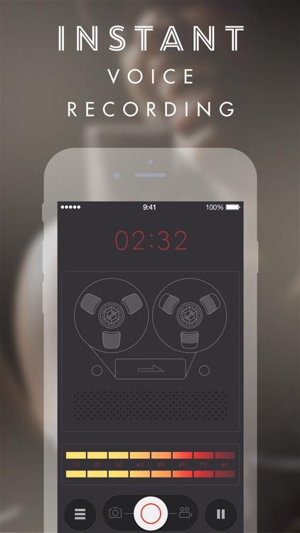 Manifesto 2 - fast camera, voice & video recorder