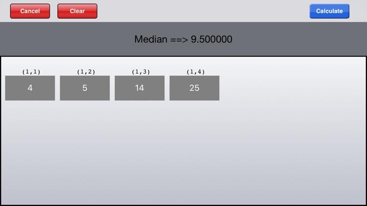 Statistical Calculator HD screenshot-3