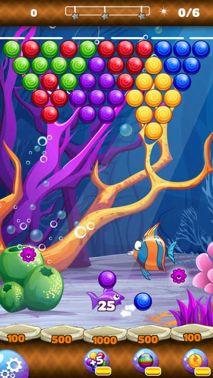 Bubble world of mermaid