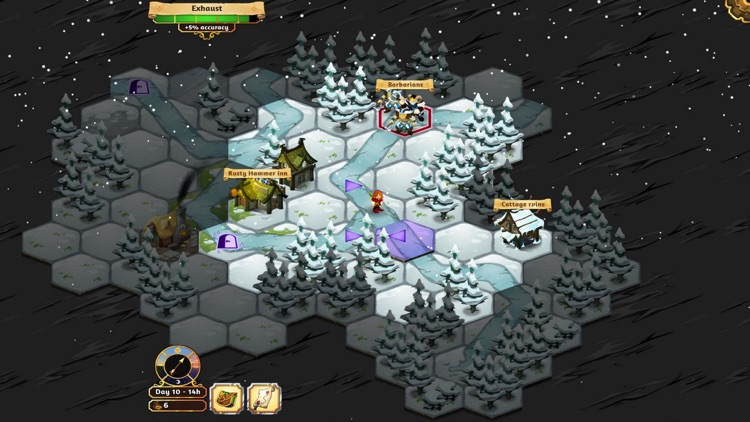 Crowntakers - The Ultimate Strategy RPG screenshot-2