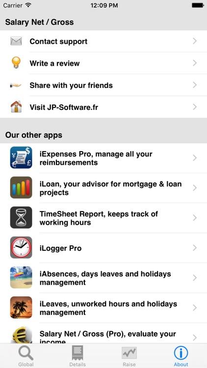 Salary Net/Gross, your income screenshot-3