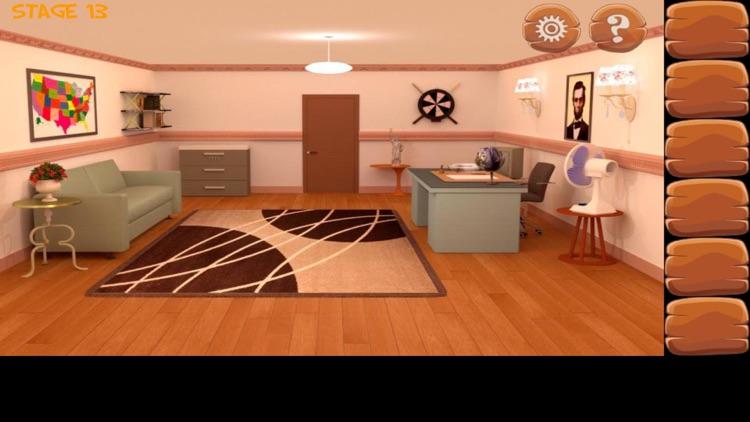 密室逃脱经典合集:逃出公寓房间系列4 - 史上最难的益智游戏 screenshot-3