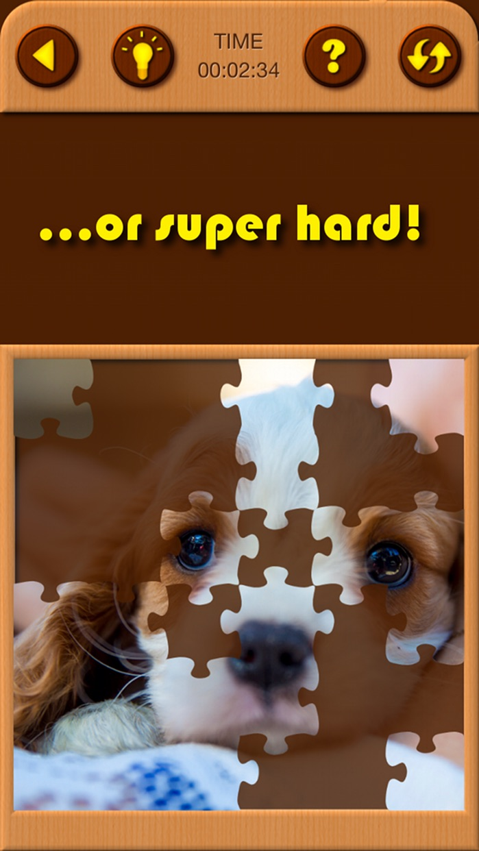Puppy Pet Jigsaw Puzzle Cute Baby Dog Animal Games Screenshot