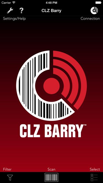Screenshot #1 pour CLZ Barry - Wireless Barcode Scanner