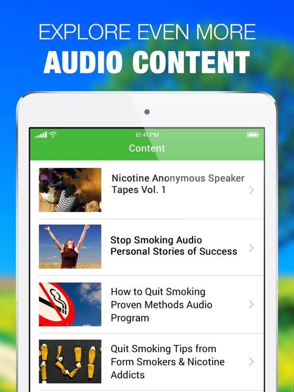 Stop Smoking Personal Stories of Success Quit Now | App
