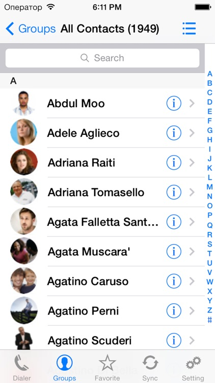iContactsPro+ - Advanced Contact & Group Manager screenshot-0