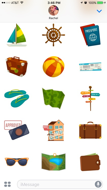 Vacation Stickers screenshot-4
