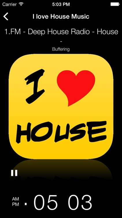 I love House - techno house music radio