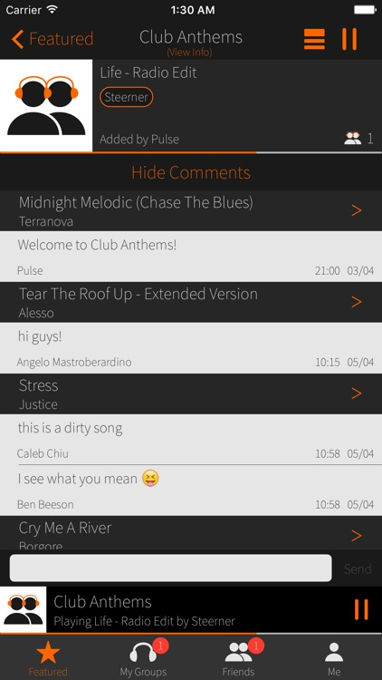 Pulse - Music Shared screenshot-1
