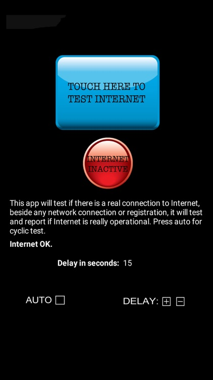 Internet Connection Test