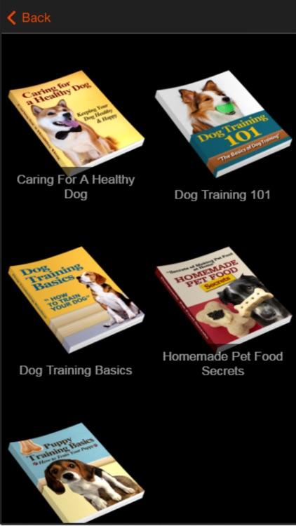 Dog Training Guide -Learn Basic Dog Training Tips screenshot-3