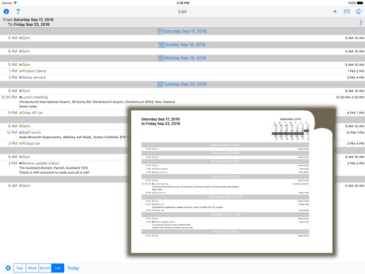 CalPrint screenshot-4