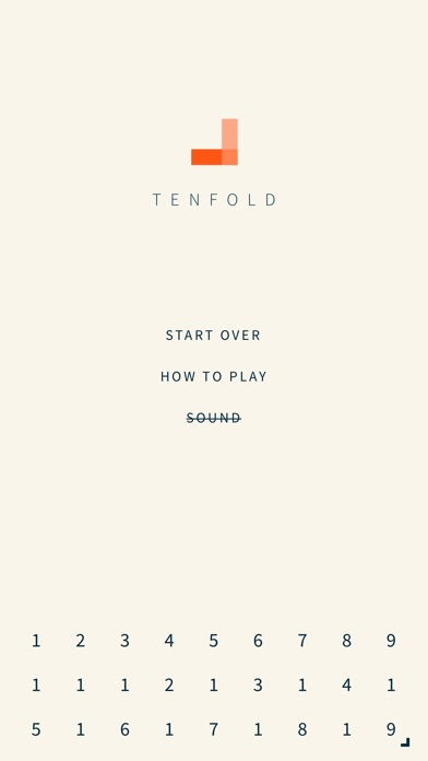 Tenfold. Screenshots
