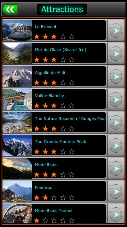Chamonix-Mont-Blanc Offline Map Travel Guide