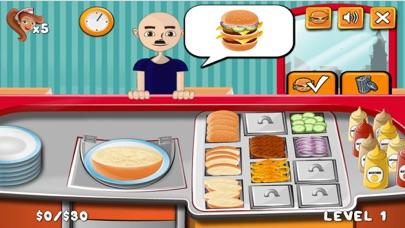 Burger Shop Make Yummy Burger screenshot four