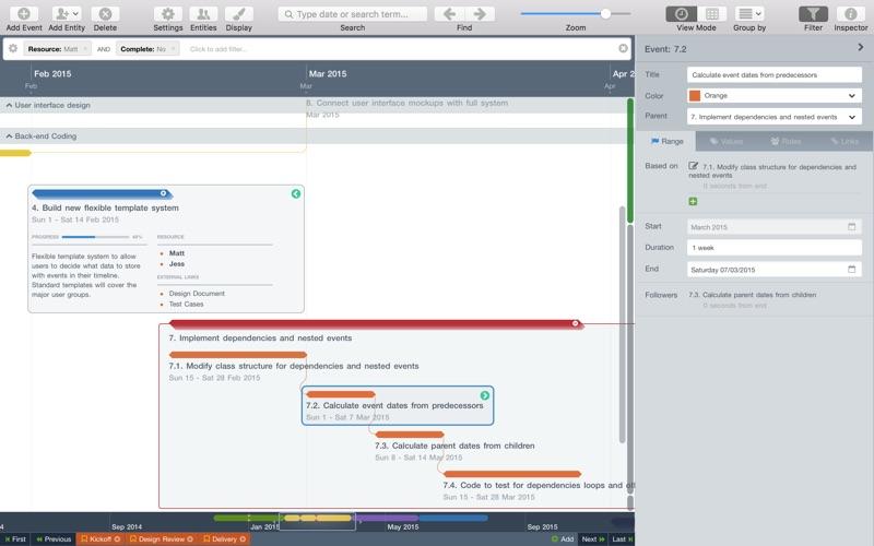 Aeon Timeline 2 Screenshots