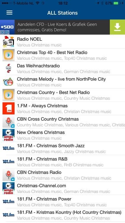 Christmas RADIO screenshot-3