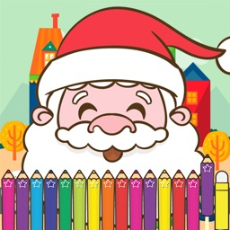Christmas Coloring for kid Holiday Games