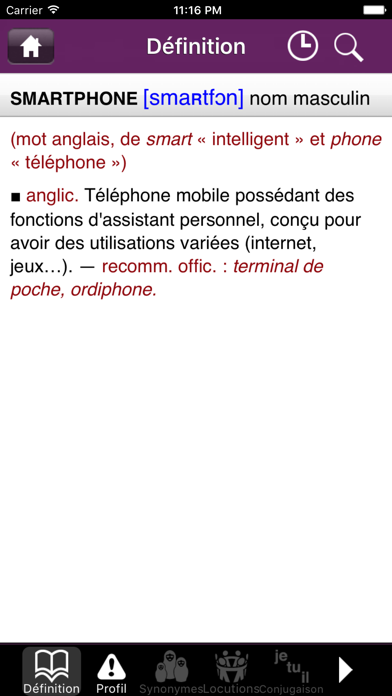Descargar Dictionnaire DIXEL Mobile para Android