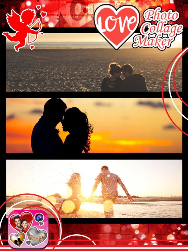 Liebe Fotocollage.n Hersteller: Rahmen Und Effekte im App Store