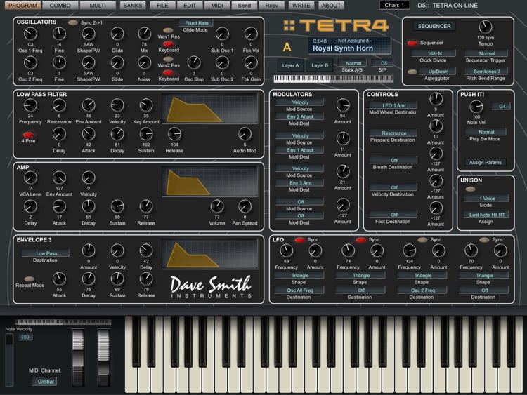 Tetra Sound Editor screenshot-0