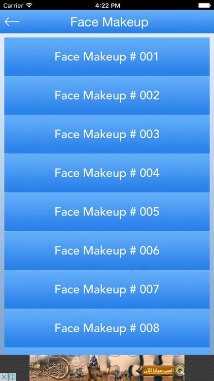Face Makeup Tutorials