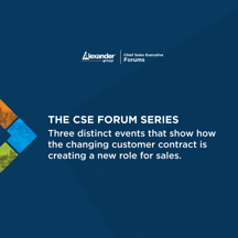 2016 CSE Forum Series