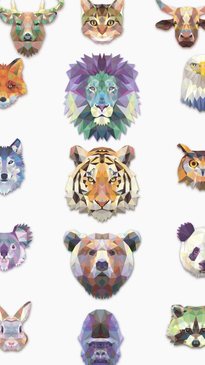 Crystal Animals Stickaz