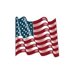 American Vintage Sticker