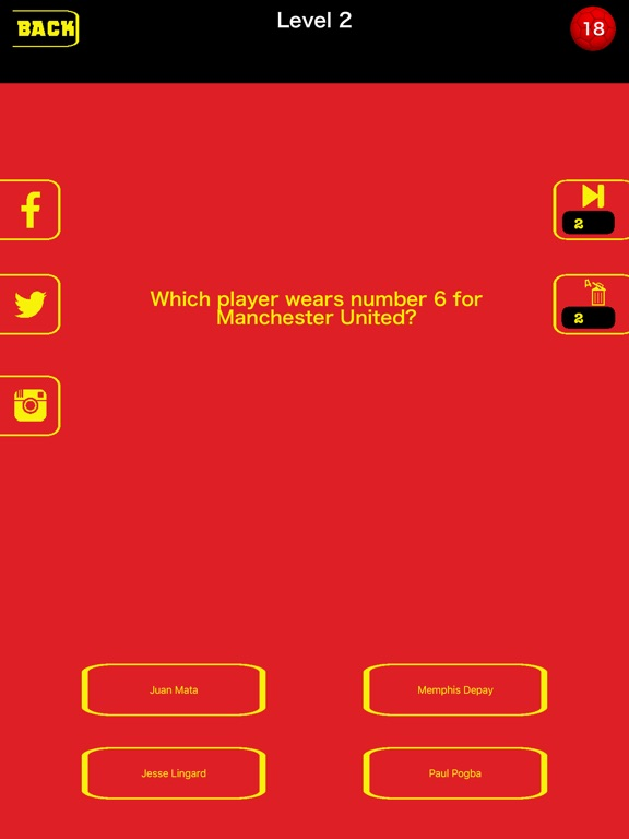 Football Trivia 2016 - for Man United-ipad-0