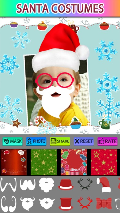 Xmas Greeting Photo Frames screenshot three