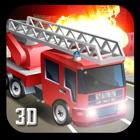 911 Rescue Fire Truck 3D Sim 2017 icon