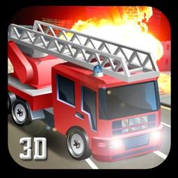 911 Rescue Fire Truck 3D Sim 2017