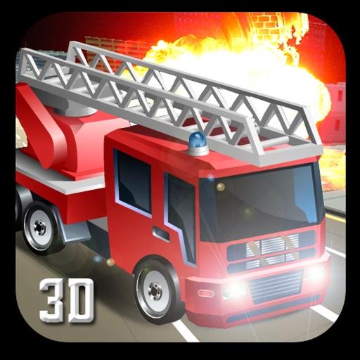 911レスキュー消防車の3Dシミュレータ2017